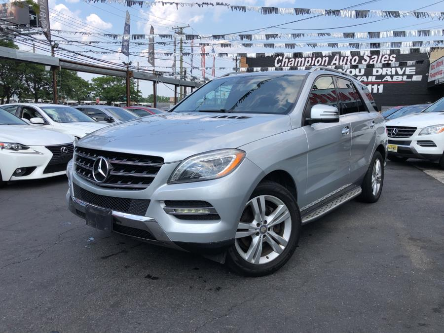 Used Mercedes-Benz M-Class 4MATIC 4dr ML350 2014 | Champion Auto Sales Of The Bronx. Bronx, New York