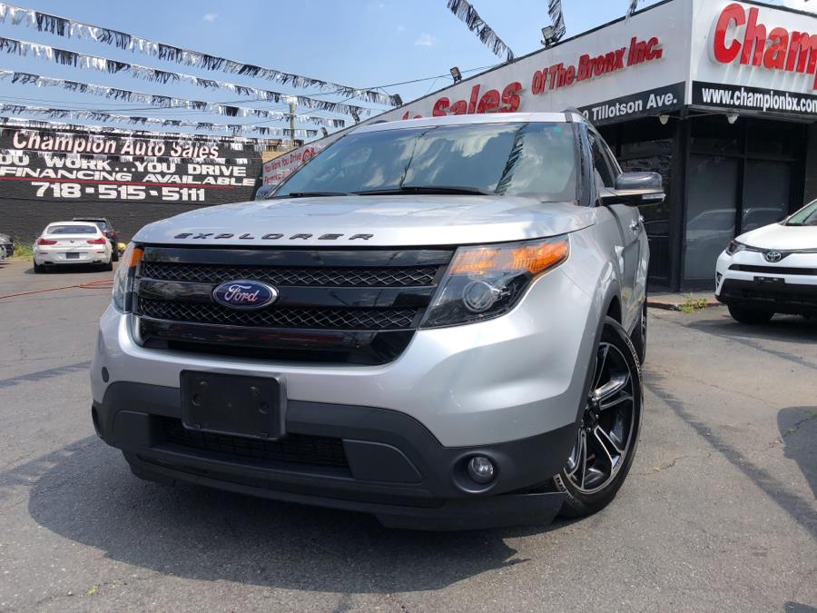 Used 2014 Ford Explorer in Bronx, New York | Champion Auto Sales Of The Bronx. Bronx, New York