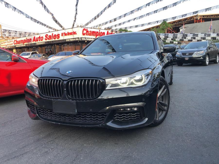 Used 2016 BMW 7 Series in Bronx, New York | Champion Auto Sales Of The Bronx. Bronx, New York