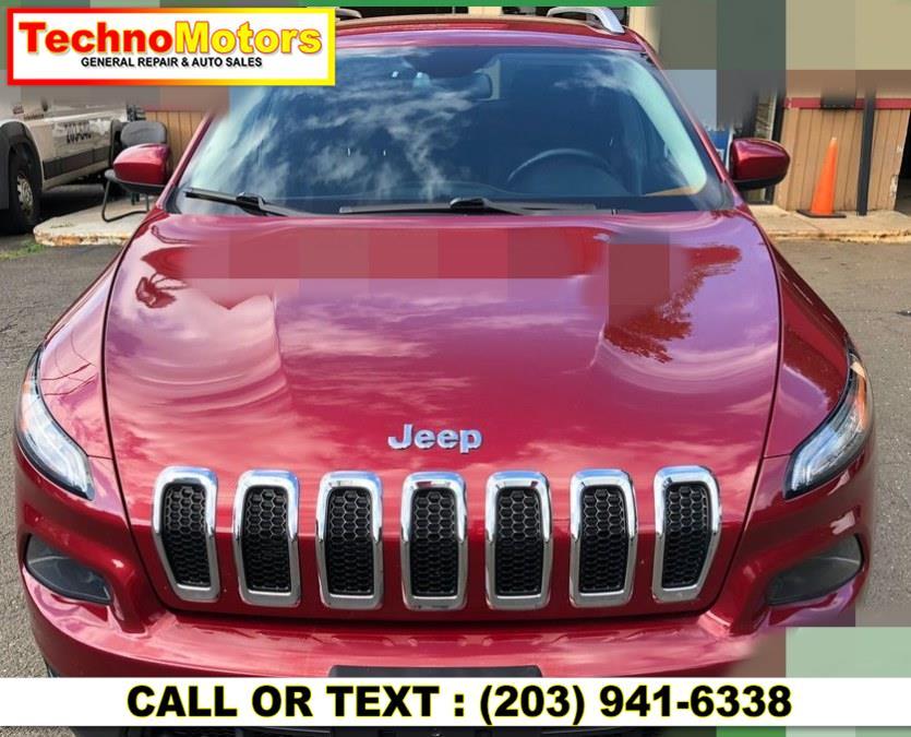 Used Jeep Cherokee 4WD 4dr Latitude 2016   Techno Motors . Danbury , Connecticut