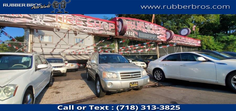 Used Toyota Highlander 4dr V6 4WD (Natl) 2003   Rubber Bros Auto World. Brooklyn, New York