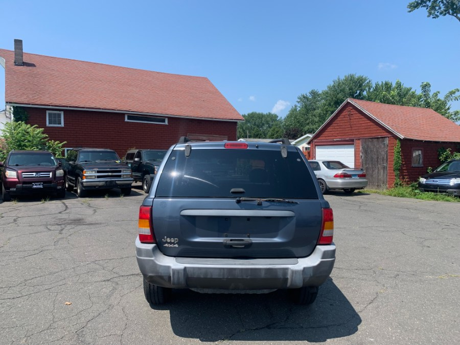 Used Jeep Grand Cherokee 4dr Laredo 4WD 2002   CT Car Co LLC. East Windsor, Connecticut