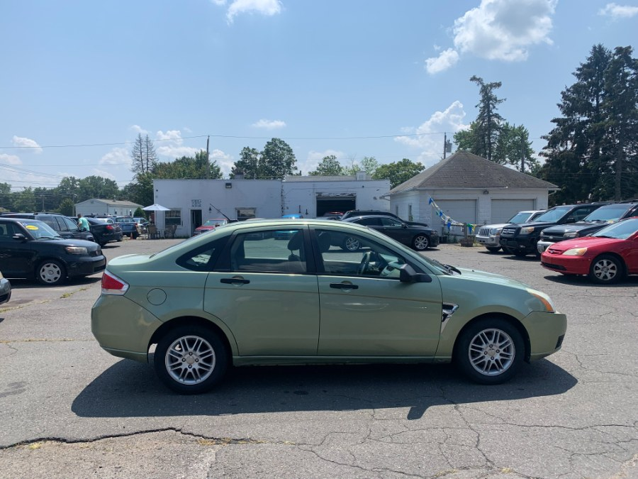 Used Ford Focus 4dr Sdn SE 2008   CT Car Co LLC. East Windsor, Connecticut