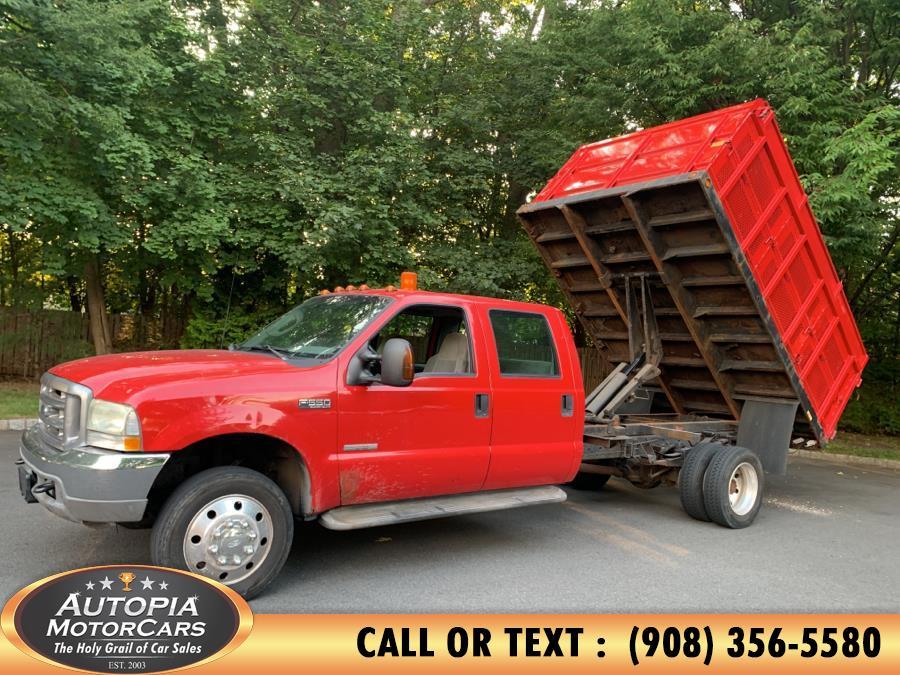 "Used Ford Super Duty F-550 DRW Crew Cab 200"" WB 84"" CA XLT 2003   Autopia Motorcars Inc. Union, New Jersey"