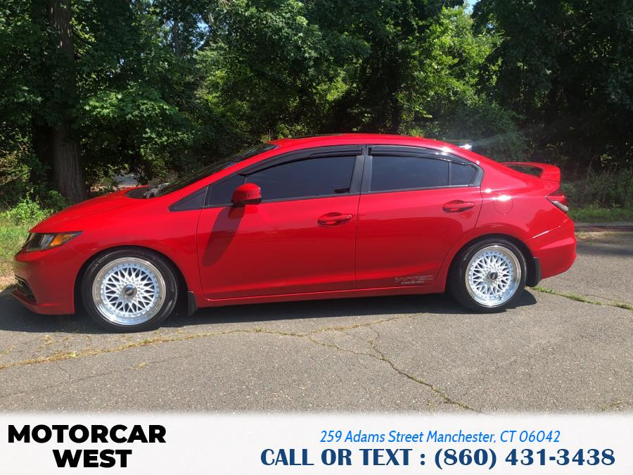 Used Honda Civic Sdn 4dr Man Si 2013 | Motorcar West. Manchester, Connecticut