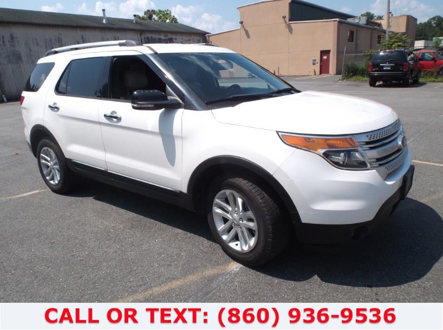 Used Ford Explorer 4WD 4dr XLT 2013   Lee Motors Sales Inc. Hartford, Connecticut