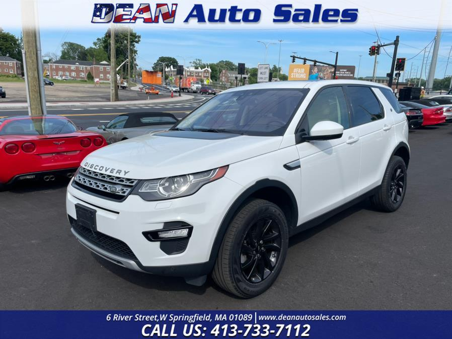 Used Land Rover Discovery Sport HSE 4WD 2018 | Dean Auto Sales. W Springfield, Massachusetts
