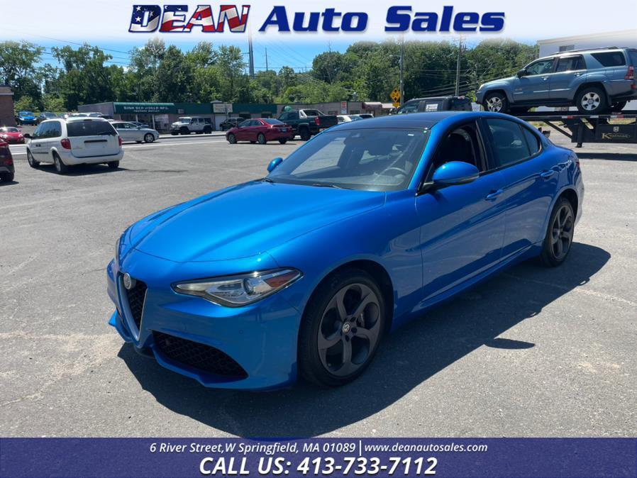 Used Alfa Romeo Giulia AWD 2018 | Dean Auto Sales. W Springfield, Massachusetts