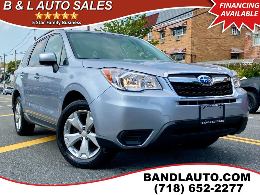 Used 2015 Subaru Forester in Bronx, New York | B & L Auto Sales LLC. Bronx, New York