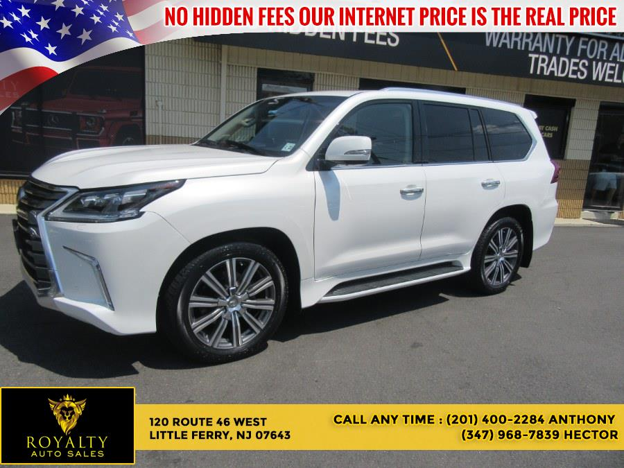 Used Lexus LX LX 570 4WD 2017 | Royalty Auto Sales. Little Ferry, New Jersey