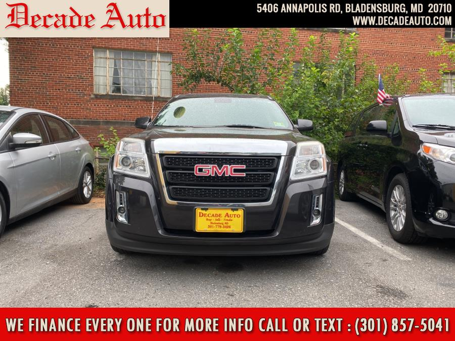 2014 GMC Terrain FWD 4dr SLT w/SLT-1, available for sale in Bladensburg, MD