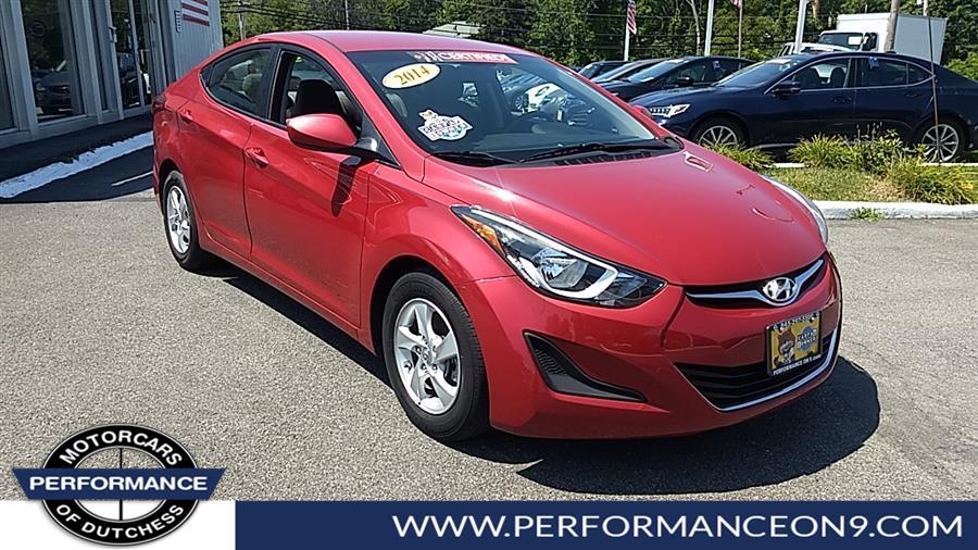 Used 2014 Hyundai Elantra in Wappingers Falls, New York | Performance Motorcars Inc. Wappingers Falls, New York