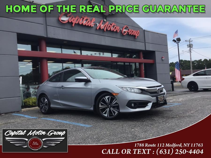 Used 2016 Honda Civic Coupe in Medford, New York   Capital Motor Group Inc. Medford, New York