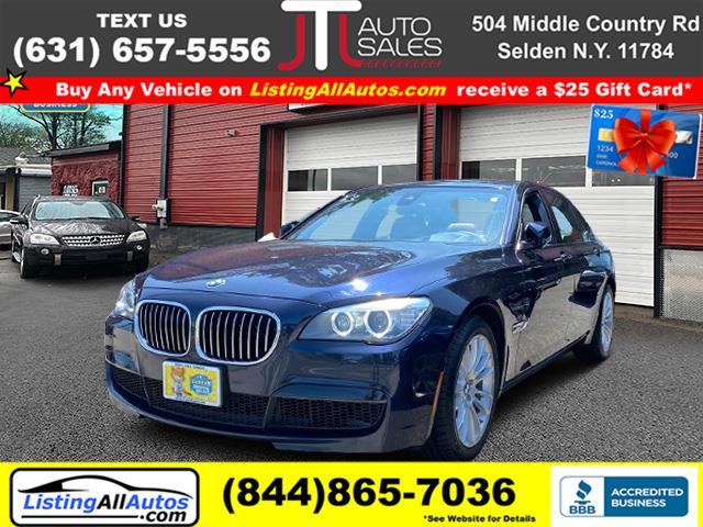 Used BMW 7 Series 4dr Sdn 750Li xDrive AWD 2014 | www.ListingAllAutos.com. Patchogue, New York