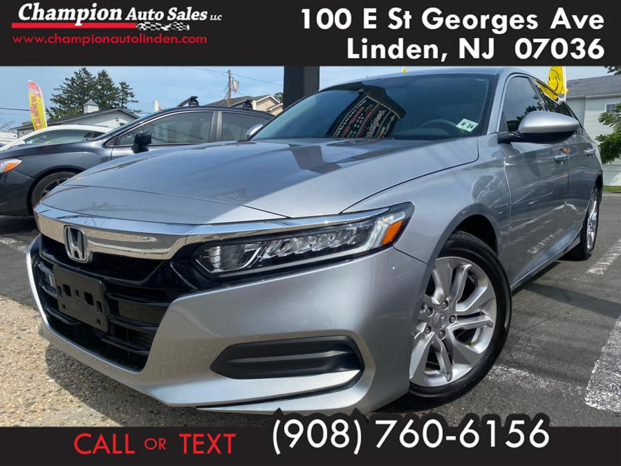 Used 2019 Honda Accord Sedan in Linden, New Jersey | Champion Auto Sales. Linden, New Jersey