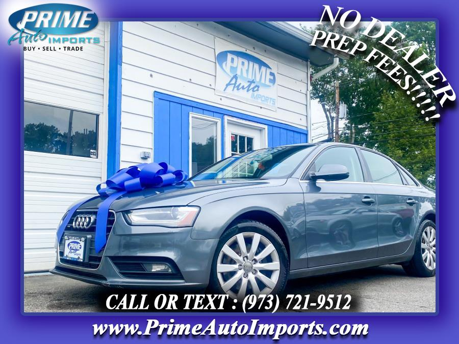 Used 2013 Audi A4 in Bloomingdale, New Jersey | Prime Auto Imports. Bloomingdale, New Jersey