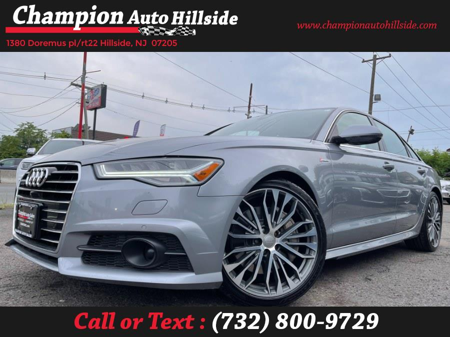 Used 2017 Audi A6 in Hillside, New Jersey | Champion Auto Hillside. Hillside, New Jersey