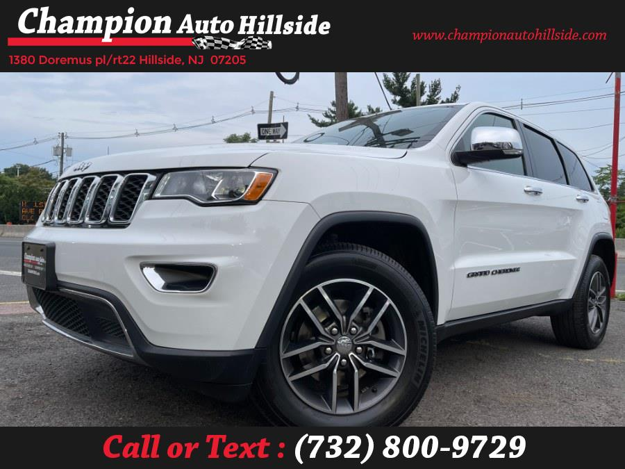 Used 2018 Jeep Grand Cherokee in Hillside, New Jersey | Champion Auto Hillside. Hillside, New Jersey