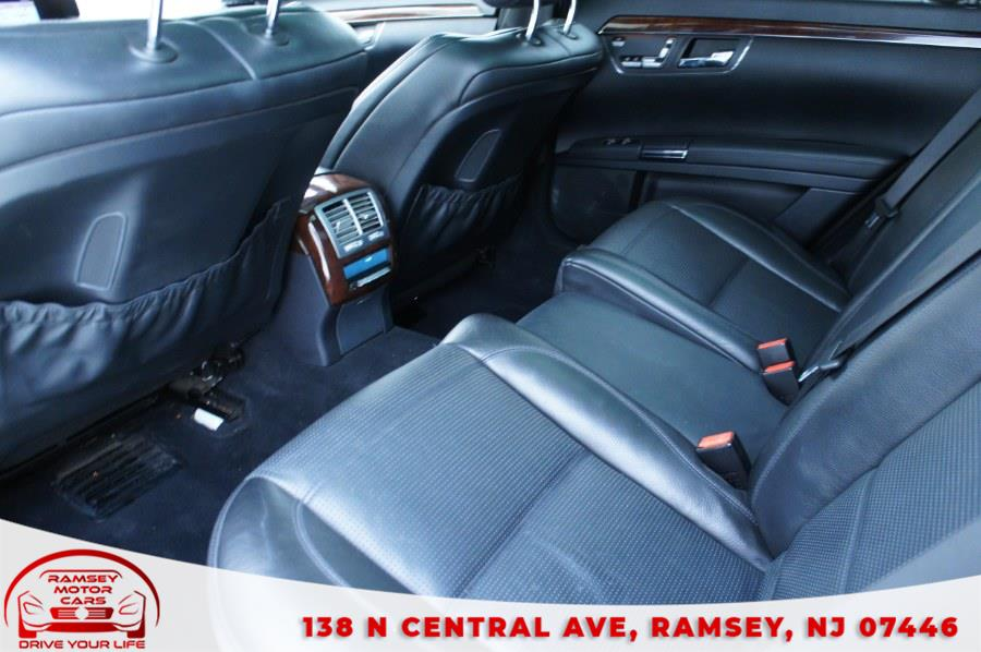 Used Mercedes-Benz S-Class 4dr Sdn 6.3L V8 AMG RWD 2009   Ramsey Motor Cars Inc. Ramsey, New Jersey