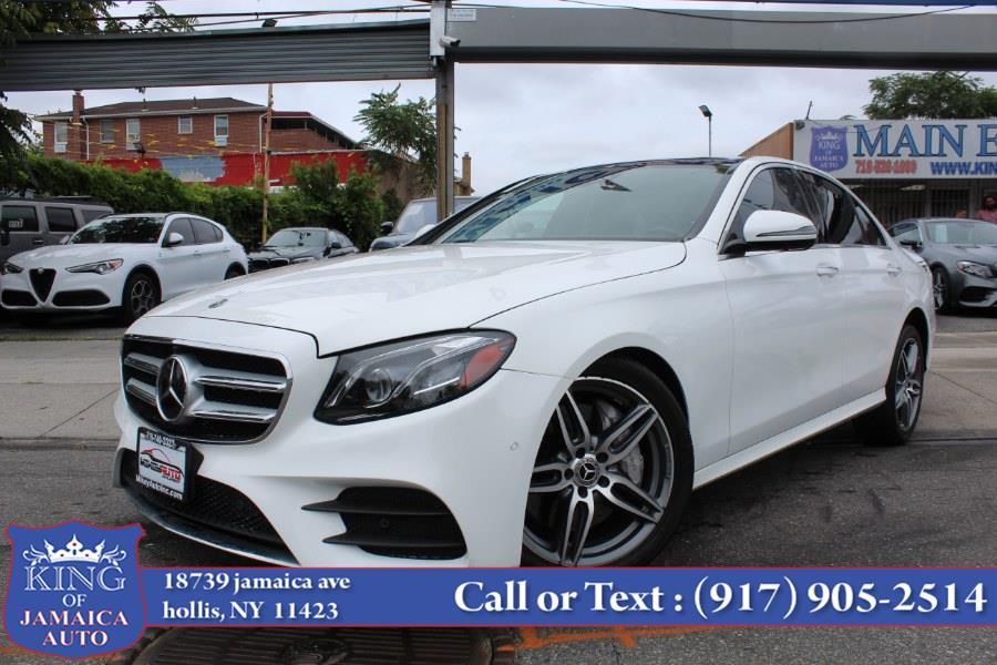 Used Mercedes-Benz E-Class E 300 4MATIC Sedan 2018   King of Jamaica Auto Inc. Hollis, New York