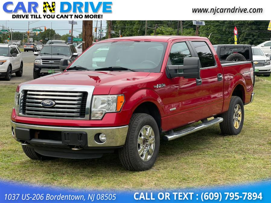 Used Ford F-150 XLT SuperCrew 5.5-ft. Bed 4WD 2012 | Car N Drive. Bordentown, New Jersey