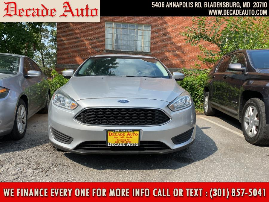 Used Ford Focus 4dr Sdn SE 2016 | Decade Auto. Bladensburg, Maryland