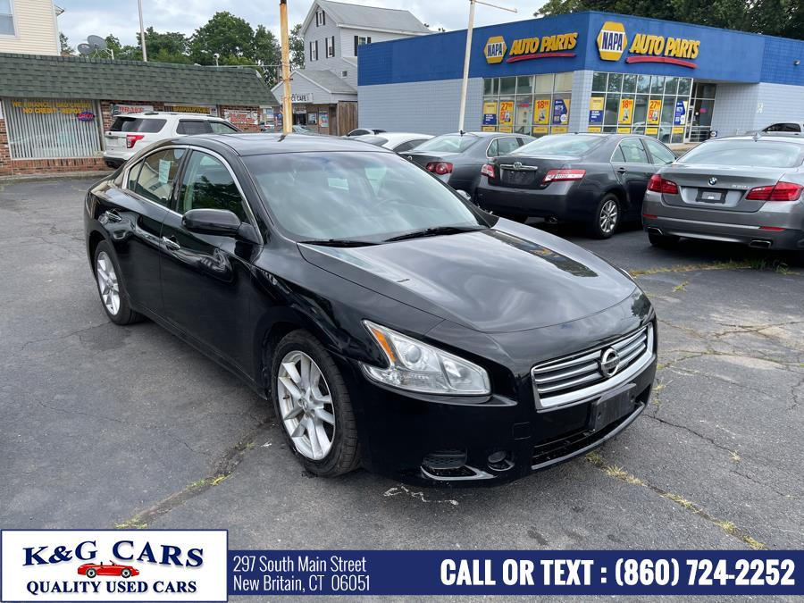 Used Nissan Maxima 4dr Sdn 3.5 S 2014   K and G Cars . New Britain, Connecticut