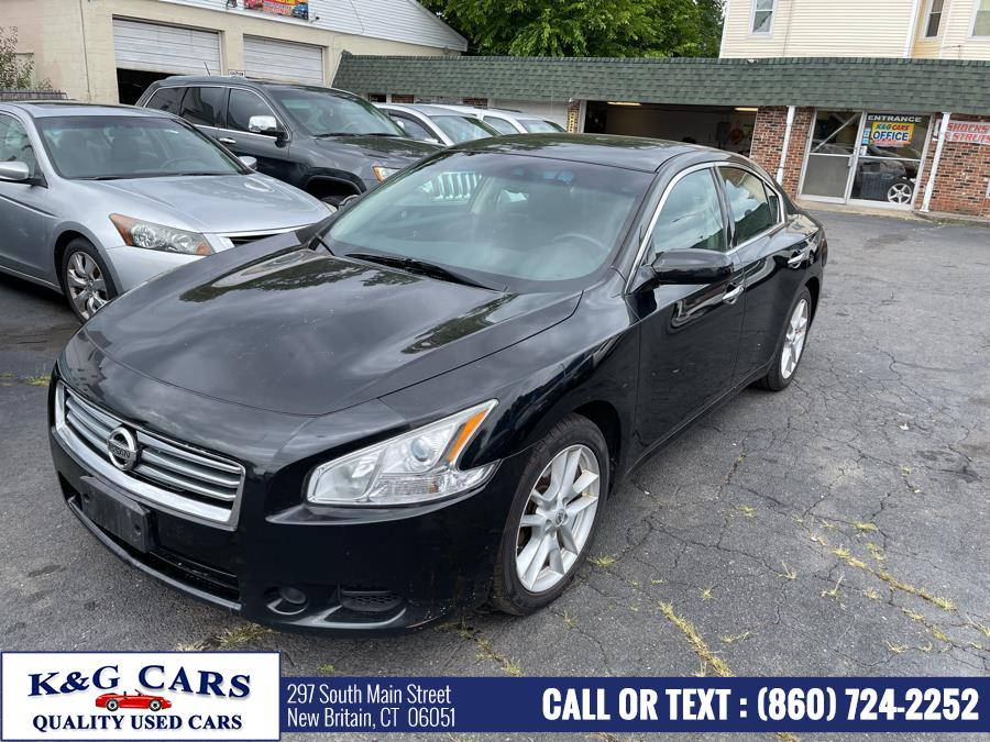 Used Nissan Maxima 4dr Sdn 3.5 S 2014 | K and G Cars . New Britain, Connecticut