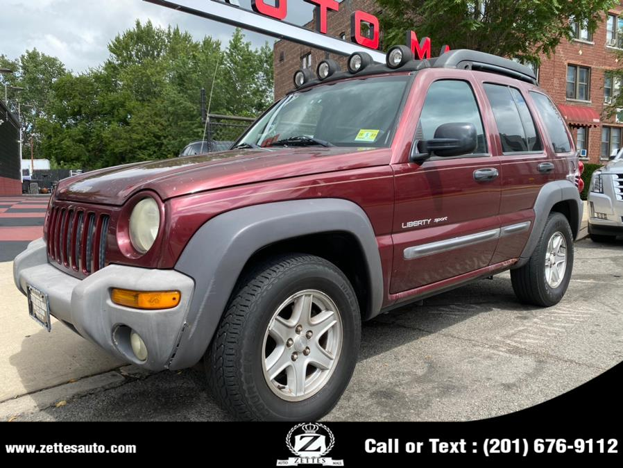 Used Jeep Liberty 4dr Sport 4WD 2003 | Zettes Auto Mall. Jersey City, New Jersey