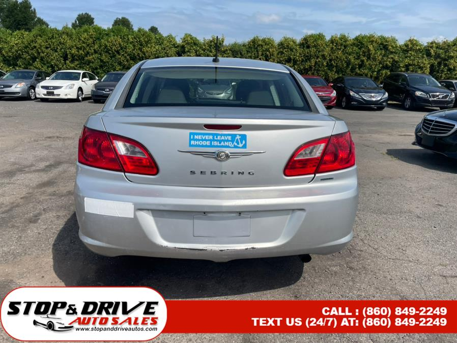 Used Chrysler Sebring 4dr Sdn Touring 2010   Stop & Drive Auto Sales. East Windsor, Connecticut