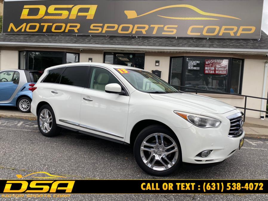 Used 2013 INFINITI JX35 in Commack, New York | DSA Motor Sports Corp. Commack, New York