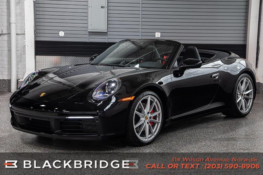 Used Porsche 911 Carrera S Cabriolet 2021   Black Bridge Motors, LLC. Norwalk, Connecticut