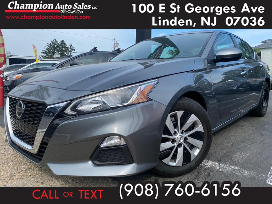 Used 2019 Nissan Altima in Linden, New Jersey | Champion Auto Sales. Linden, New Jersey