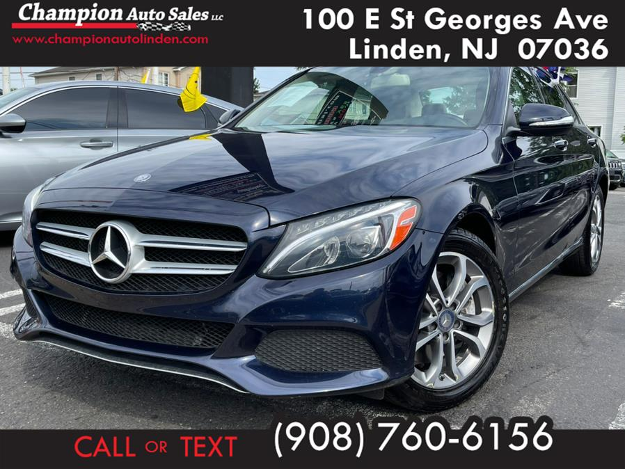 Used 2015 Mercedes-Benz C-Class in Linden, New Jersey | Champion Auto Sales. Linden, New Jersey