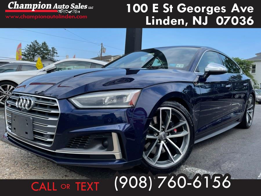 Used 2018 Audi S5 Sportback in Linden, New Jersey | Champion Auto Sales. Linden, New Jersey