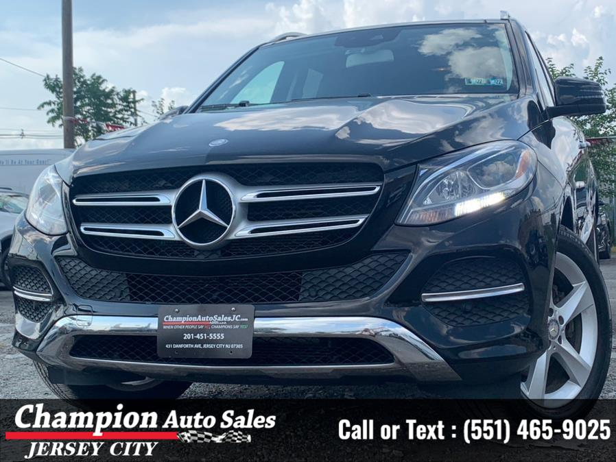 Used Mercedes-Benz GLE 4MATIC 4dr GLE 350 2016   Champion Auto Sales of JC. Jersey City, New Jersey