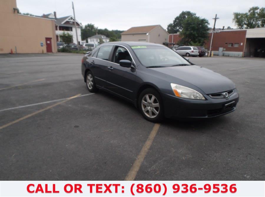 Used Honda Accord Sdn EX-L V6 AT with NAVI 2005 | Lee Motors Sales Inc. Hartford, Connecticut