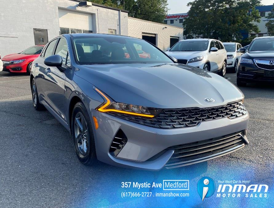 Used Kia K5 LXS Auto FWD 2021   Inman Motors Sales. Medford, Massachusetts