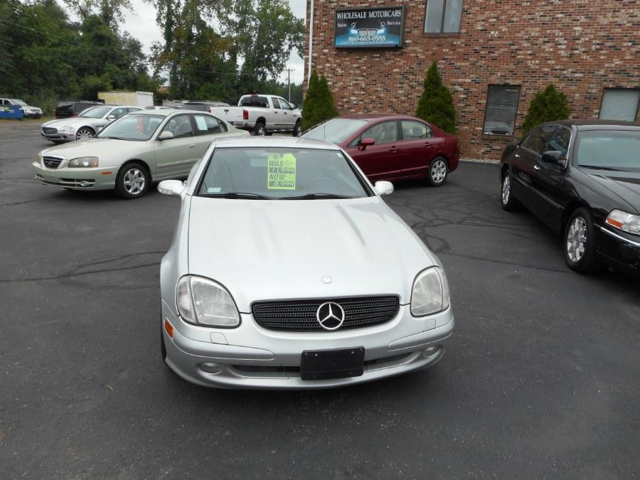 Used 2003 Mercedes-Benz SLK-Class in Newington, Connecticut | Wholesale Motorcars LLC. Newington, Connecticut
