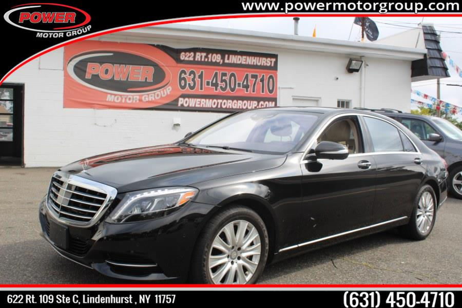 Used Mercedes-Benz S-Class 4dr Sdn S550 4MATIC 2015 | Power Motor Group. Lindenhurst, New York