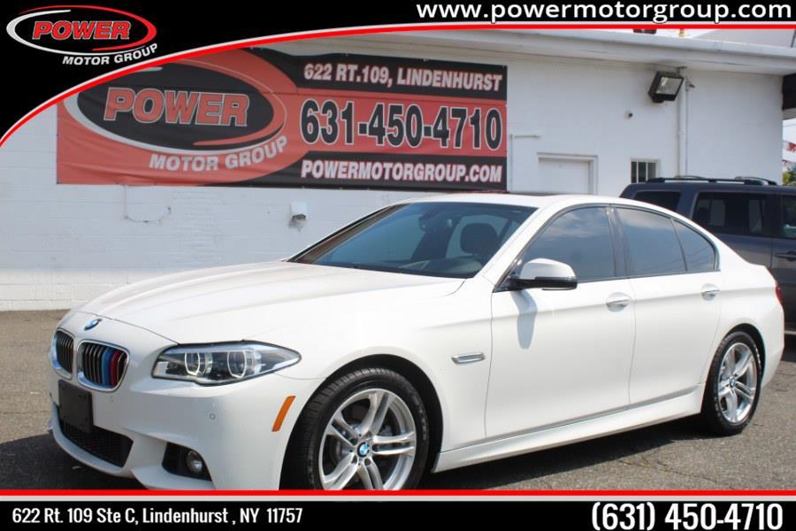 Used BMW 5 Series 4dr Sdn 528i xDrive AWD 2015 | Power Motor Group. Lindenhurst, New York