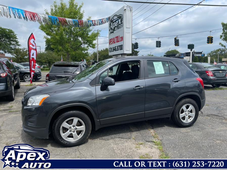 Used Chevrolet Trax AWD 4dr LS w/1LS 2016 | Apex Auto. Selden, New York