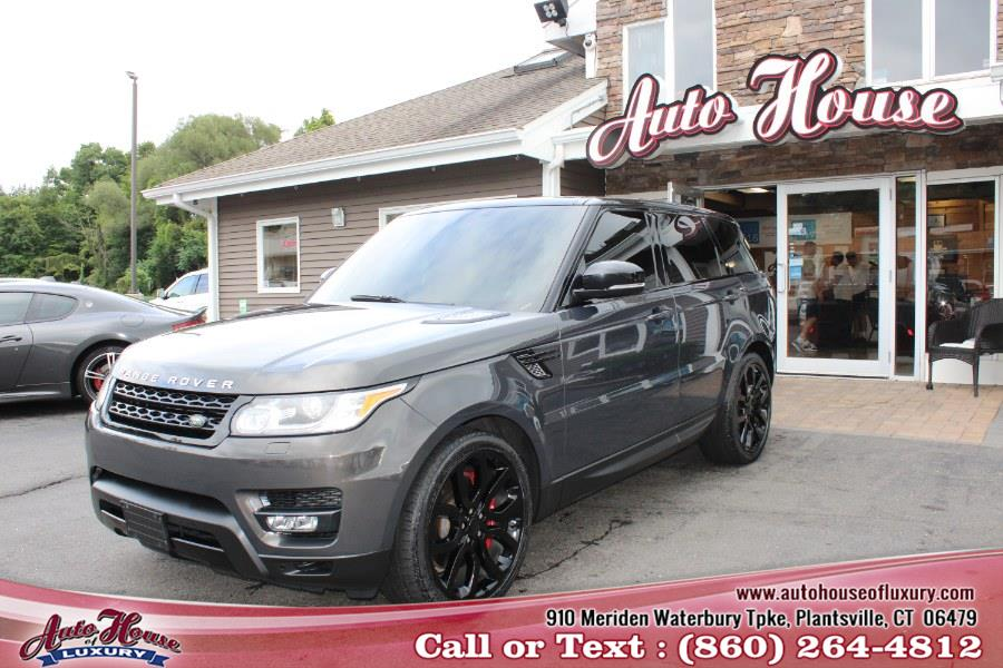Used Land Rover Range Rover Sport 4WD 4dr Supercharged 2015 | Auto House of Luxury. Plantsville, Connecticut