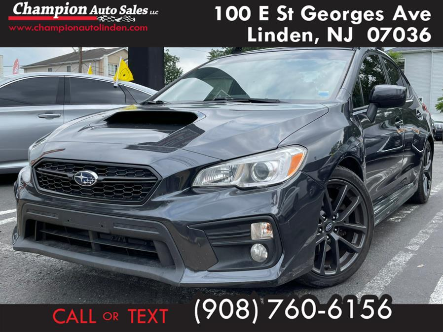 Used 2018 Subaru WRX in Linden, New Jersey   Champion Used Auto Sales. Linden, New Jersey