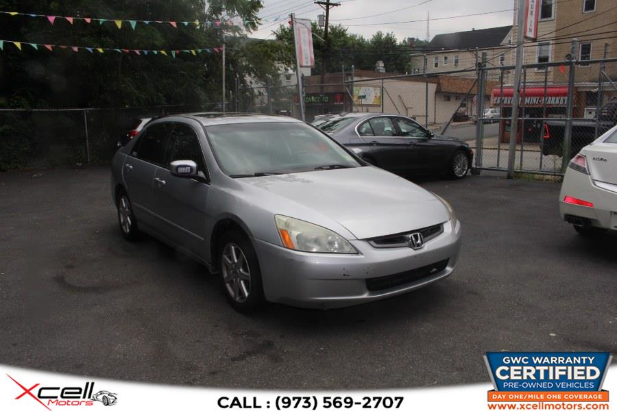 Used Honda Accord EX Auto V6 w/Leather EX Auto V6 w/Leather/XM 2004   Xcell Motors LLC. Paterson, New Jersey