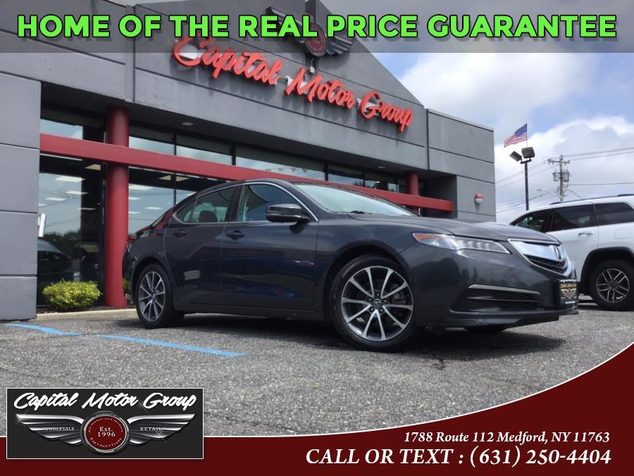 Used Acura TLX 4dr Sdn SH-AWD V6 Tech 2015 | Capital Motor Group Inc. Medford, New York