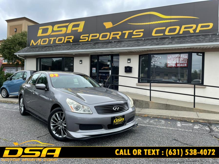 Used 2009 Infiniti G37 Sedan in Commack, New York | DSA Motor Sports Corp. Commack, New York