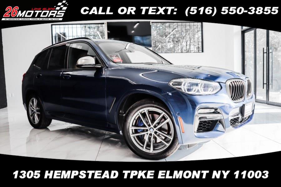 Used BMW X3 ///M Sport Package M40i Sports Activity Vehicle 2018   26 Motors Long Island. ELMONT, New York