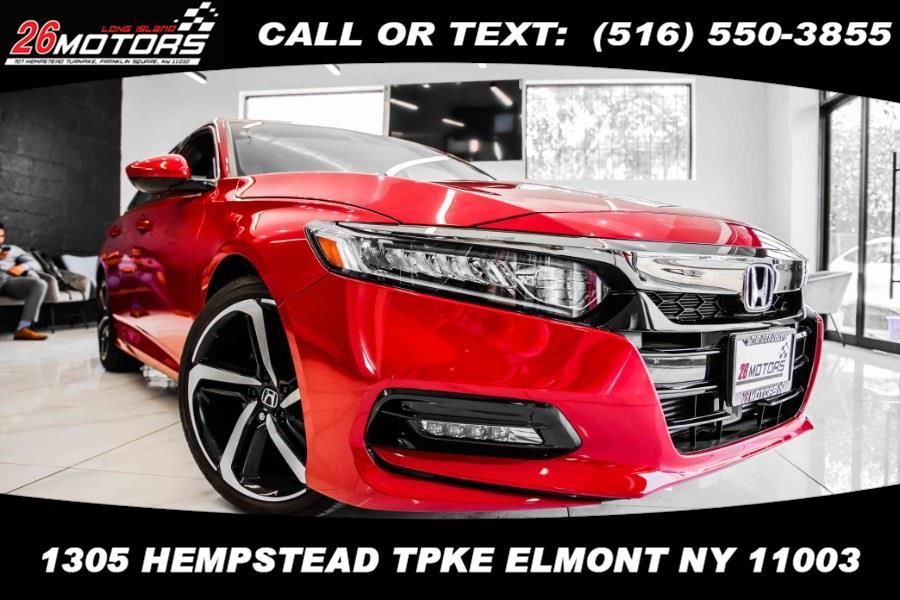 Used Honda Accord Sedan Sport 2.0T Auto 2019 | 26 Motors Long Island. ELMONT, New York