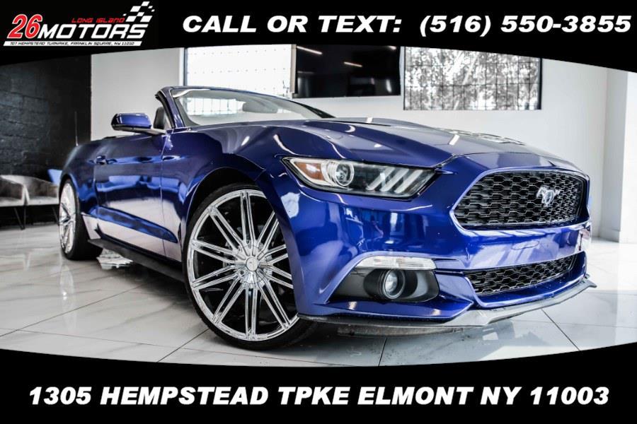 Used Ford Mustang 2dr Conv EcoBoost Premium 2016 | 26 Motors Long Island. ELMONT, New York